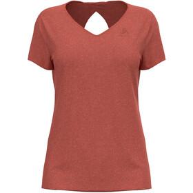 Odlo Halden Linencool T-Shirt S/S Crew Neck Women burnt sienna melange
